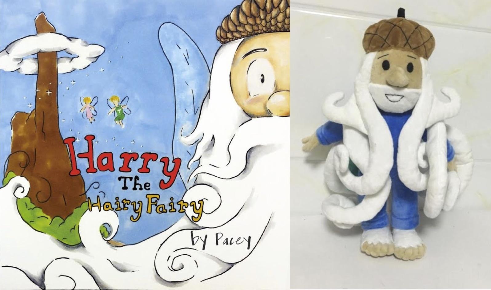 hairy the hairy fairy stuffed animal