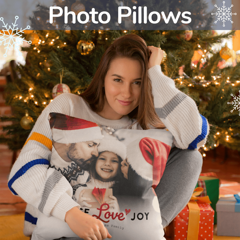 custom photo pillows
