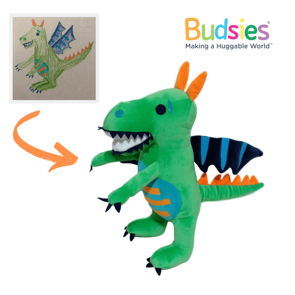 how to make a dragon stuffed animal