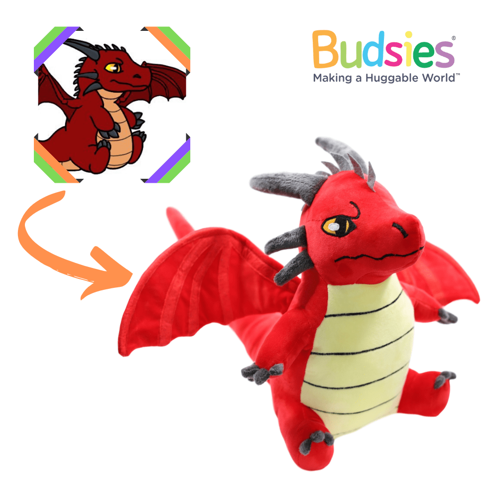 how to make a stuffed dragon
