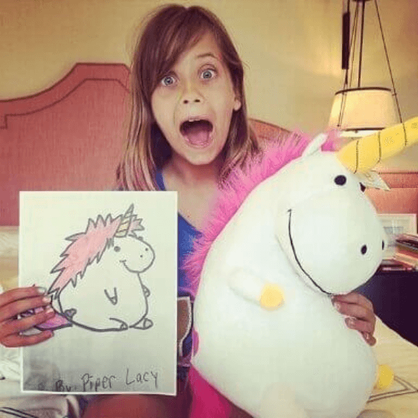kids' Drawings Stuffed Animals