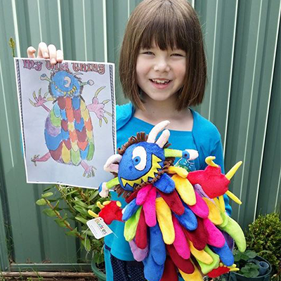 kids' Drawings Stuffed Animals
