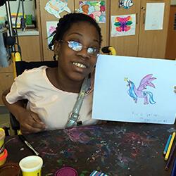Kira's unicorn drawing