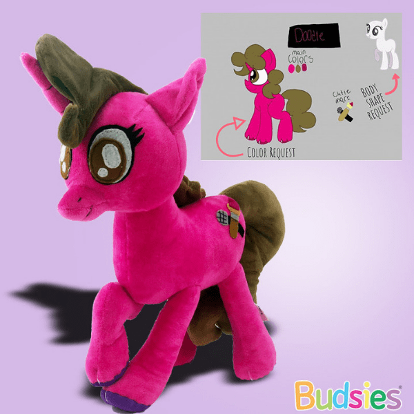 My Little Pony Plushies Mlp Oc Budsies