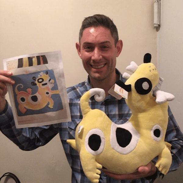 design a stuffed animal