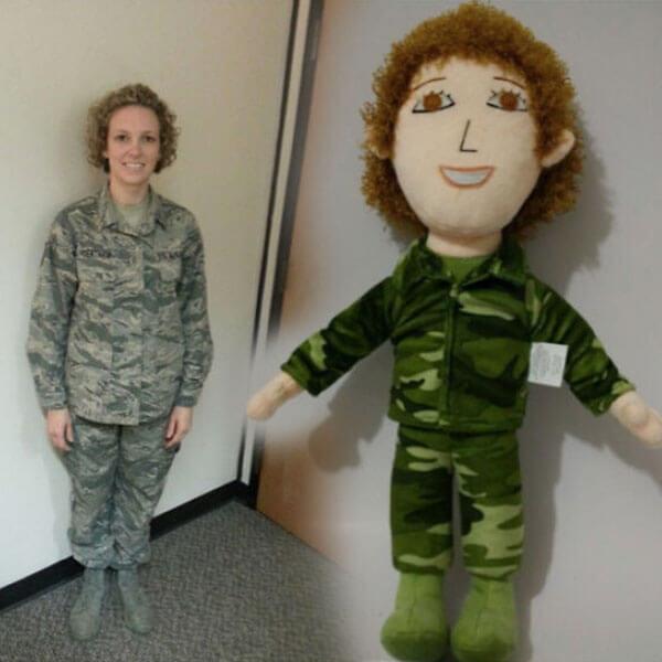 military mom doll