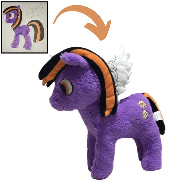 Custom My little pony plush personalized MLP