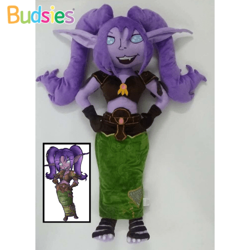 night elf druid world of warcraft plushies