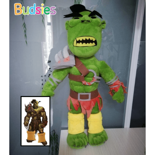 orc warrior world of warcraft plushies