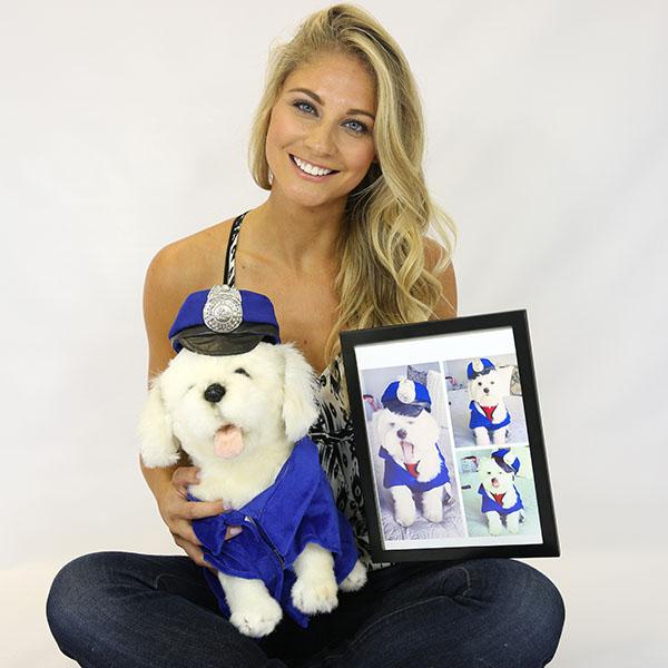 custom stuffed animal of your pet