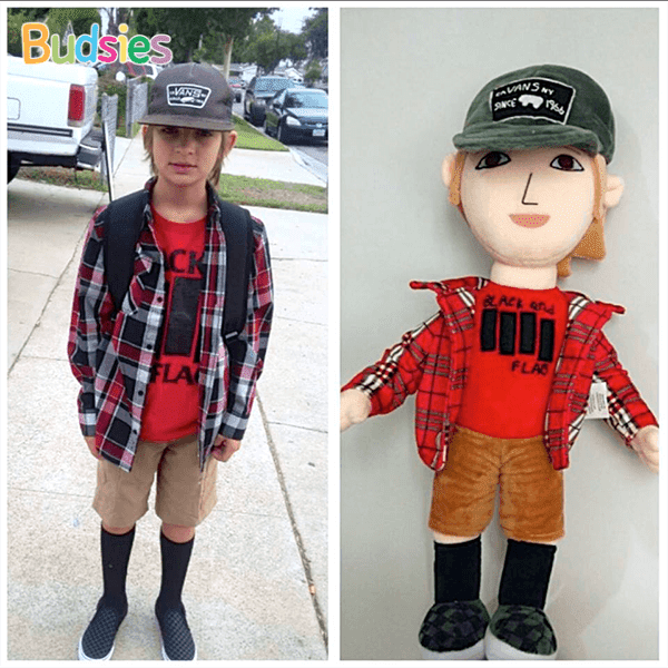 custom plush doll of your kid