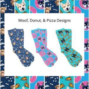 custom pet face socks