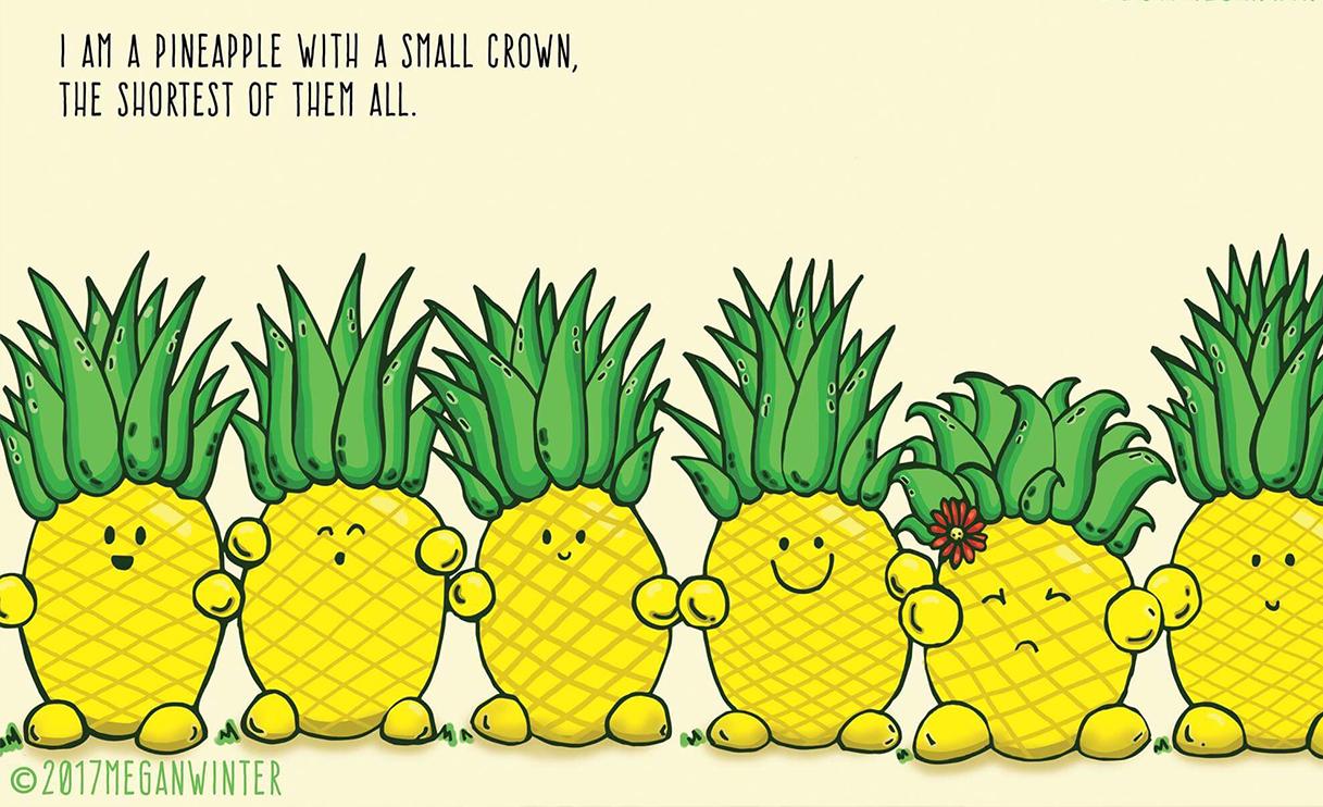 little pineapple book