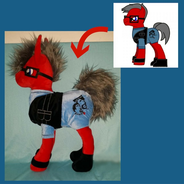 MLP plush pony
