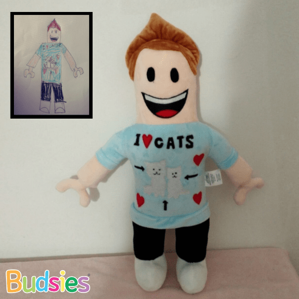 Custom Roblox Plush Commissions Budsies