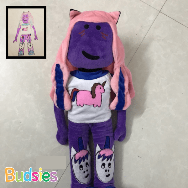 Make Your Own Roblox Character Online Custom Roblox Plush Commissions Budsies