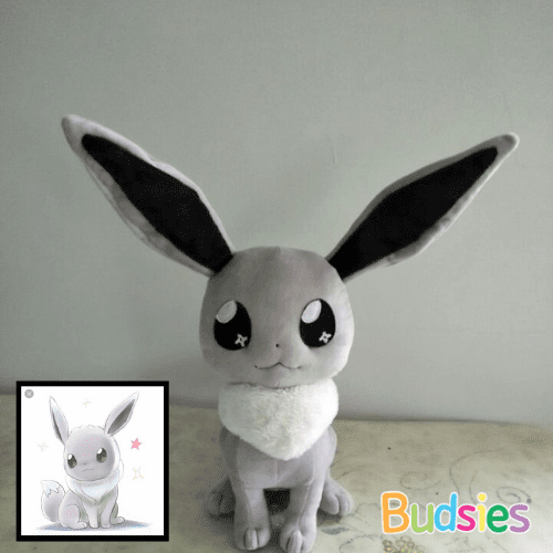shiny eevee stuffed plush
