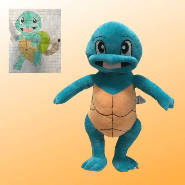 custom pokemon plushie of fakemon krilvolver