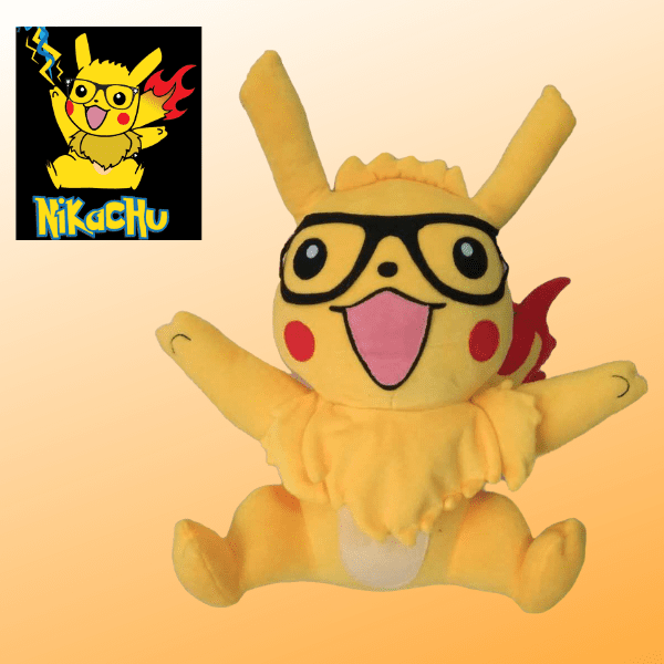 custom pikachu stuffed animal