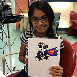 Sristi and her picture
