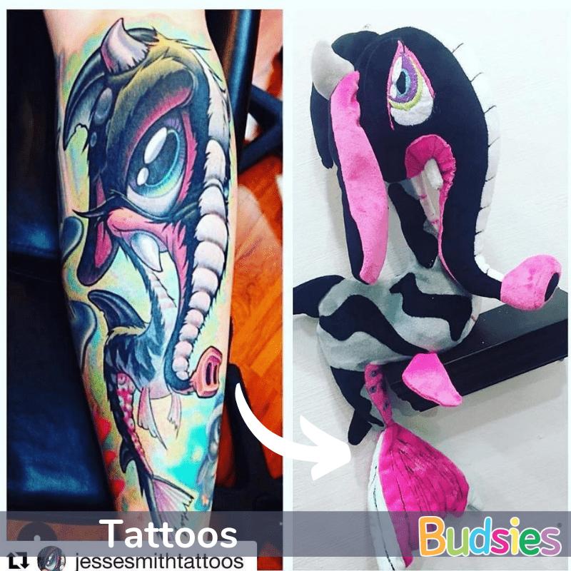tattoo stuffed animals