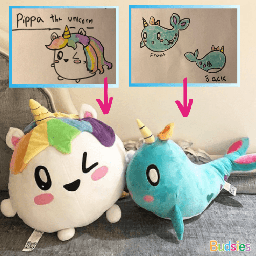custom unicorn stuffed animals