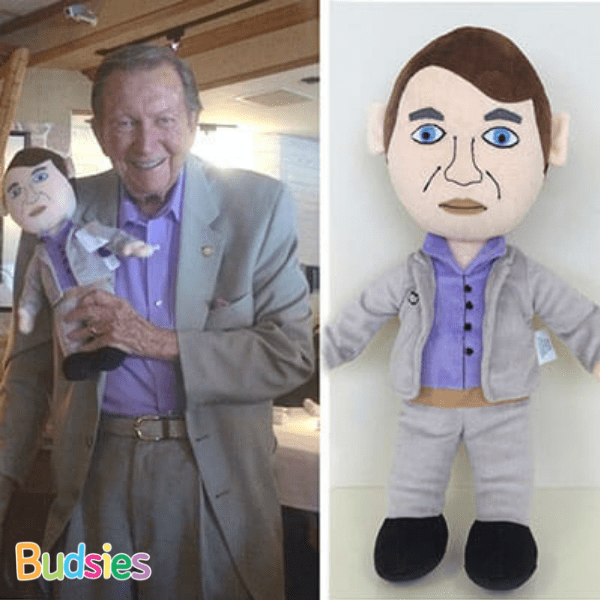 custom plush doll of your boss
