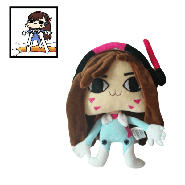 Original character overwatch custom plush stuffed animal