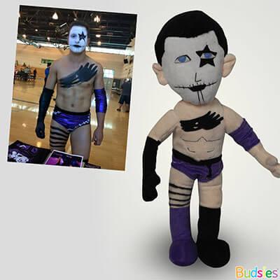 wrestler plushie