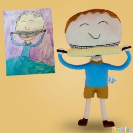 corn custom plush gift of a boy