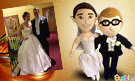 Custom wedding gift bride groom