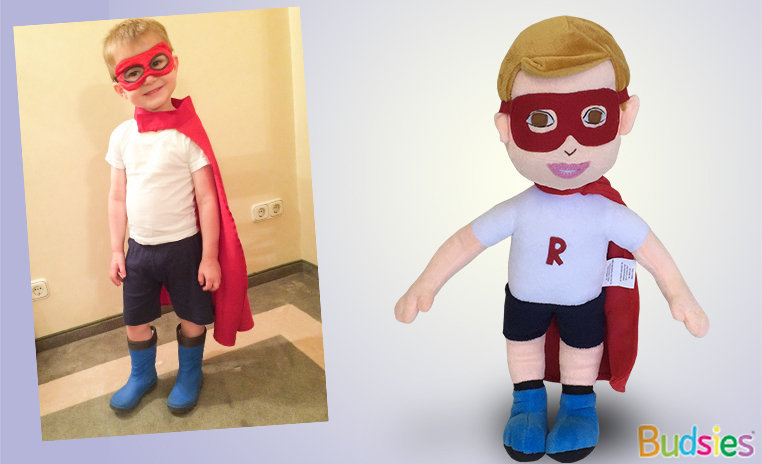 Custom doll boy plush stuffed animal