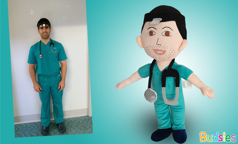 Custom gift employee doctor
